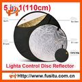 "43"" Light Mulit Collapsible disc 5 in 1 Reflector 110cm"