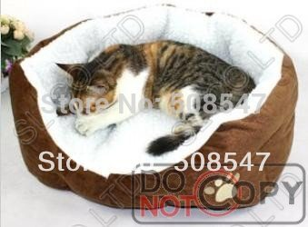 New heat,warm, Indoor Pet Puppy Dog Cat Bed House soft Warm,pet house(China (Mainland))