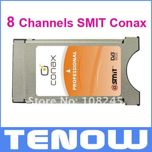 8 Channels SMIT Conax Professional CAM CI Module,Freeshipping(China (Mainland))