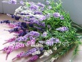 High simulation flower artificial flower silk flower 9 heads High simulation lavender artificial lavender 50pcs one lot