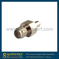 SMA-TS9 adapter RP SMA Jack to TS9 Plug Straight