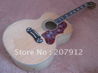 2012 New Arrival Pete Townshend J200 Natural acoustic-electric Guitar with hardshell case