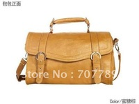 2010 new style women handbag bags tote  PU Leather free shipping