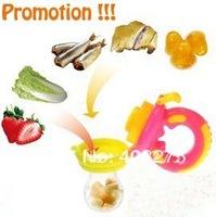 Retail 1 pcs,genius feeder/joyful food feeder/baby feeding/pacifier,pink fruit,shipping free