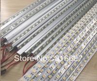 """12V LED Bar light/LED rigid lghts  5050SMD 60LED/M warm white with """"U"""" type aluminum house"""