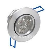 10pcs 3W high power LED ceiling light / cabinet light / 3*1W led lighting / led ceiling HT30