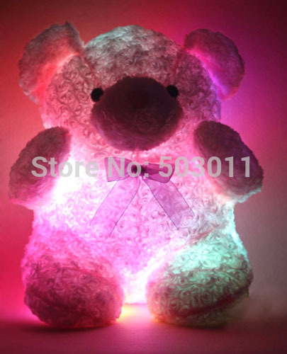 Animal Pillow That Lights Up : New arrival! Teddy Bear Pillow, LED light up xmas pillow, Animal Plush LED Pillow , Decorative ...