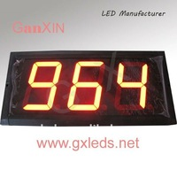 4inch 3digits indoor countdown 3 digit led