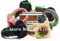 Genuine leather earcaps.women/men warm earmuffs,Cold-proof earflaps,nature fur winter earmuffs