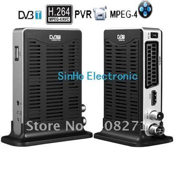 Hot sale high quality Mini Scart Terrestrial Receiver Tv Tuner  dvb t receiver DVB-9002
