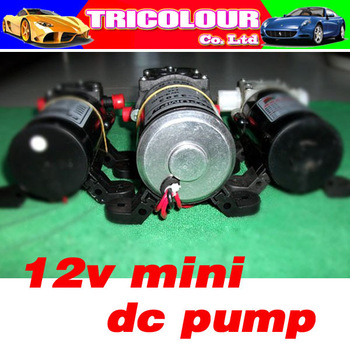 DC pump 12v mini dc pump high pressure(FL-3203 5.0L/MIN 100PSI 7.0BAR  Black color long life)#A09007