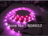Factory wholesale (LED red) 3528 monochrome5M60LED12V waterproof series / holiday lights LED Lighting> LED light bar