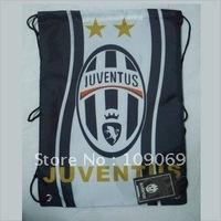 Free shipping Juventus FC  football backpack /shoe bag