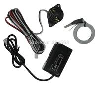 Electromagnetic parking sensor U301,car parking Assistance,reverse parking sensor,no holed no drilled,Free shipping,wholesales