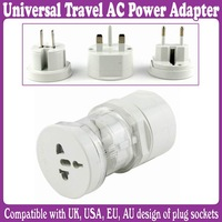 Universal Travel AC Power Adapter Plug to plug socket - AU/EU/US/UK_Free Shipping