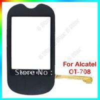 Brand New Original Touch Screen Digitizer for Alcatel OT-708 OT 708, Free Shipping, Min. Order 1 PCS