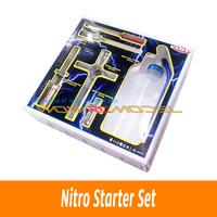 HSP Nitro Starter Tool Kit Set Glow Plug Igniter For RC Nitro Car/Buggy/ Truck/Truggy