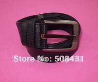 Wholesale Free Shipping---2011 newest style---Fashion Men's Genuine Leather Belt