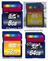 SD 3.0 memory SD card SDHC 2GB 4GB 8GB 16GB 32GB SDXC 64GB  Real capacity Full High Speed  Memory card Pen drive Flash