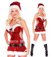 Wholesale! FREE SHIPPING!(10pieces) Sexy Princess Christmas Costume, Sexy Christmas Dress, Christmas Lingerie