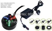 ultrasonic humidifier 3 disc mist maker ultrasonic huge mist fog maker with CE plug adapter