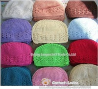 Promotional 50% on sales Free shiping Mid size 12.5-15*16 cm .12pcs/lot Kufi hats