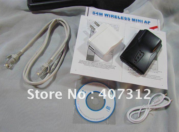 Portable Wireless Partner 54M wireless mini AP, Wifi Antennas, Wlan Antennas, drop shipping ,fre ...
