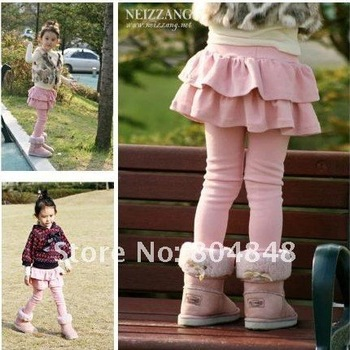 5 pcs,Girl skirt,Girl culotte,Children's clothes, Baby girl leggings, all the colors in stock, Freeshipping