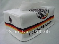 Germany towel sets/suede tissue box cover