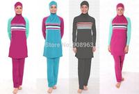 Fashion Modest muslim swimwear  for women Muslim women swimwears