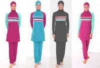 Retail Wholesale swimwear for muslim women muslim women swimwear 10pcs/lot Free shipping