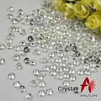 Free Shipping 10000pcs/lot 4.5mm Wedding Decoration Confetti Diamond Clear
