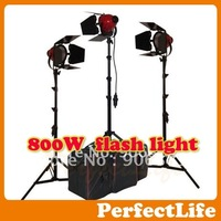 800W Studio flash lighting kit professional light kit photographic for Canaon Nikon