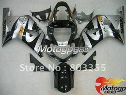 1 set gray/black Suzuki Gsxr 600 750 01 02 03 K2 K1 2001 2002 2003 GSX R600 R750 Fairing Bodywork ABS plastic,support customize(China (Mainland))
