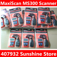 Free shiping Hot Sale MaxiScan MS309 OBDII Code Reader Scanner obd2 Car Diagnostic Tool