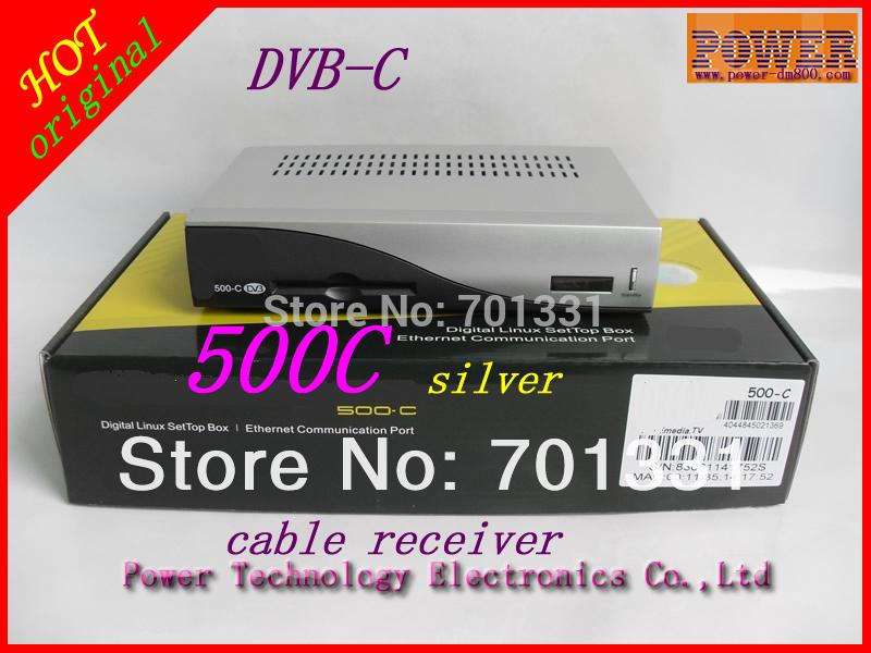 Good quality,DM500C Cable DVB Set Top Box,TV Digital Satellite TV Receiver(Hong Kong)