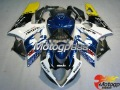 1 set white/blue/yellow motorcycle fairings for Suzuki 2005 2006 GSXR1000 05-06 K5 GSX R1000 racing Fairing Bodywork ABS 20