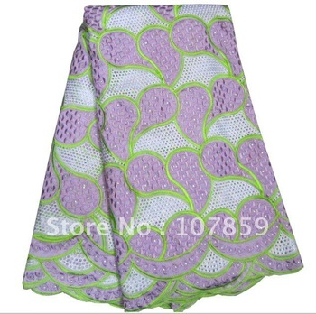 Free shipping african lace fabric,100% cotton swiss voile lace,heavy big design,wholesale and retail with last price,New designs