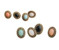 Retro Fashion Earrings U.S. points Earrings ,NN-82792  ,earrings 10 pairs/lot.