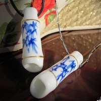 lovers' pendant!	Blue and white porcelain !Ceramic Pendant,jingdezhen ceramic necklace,Couples Necklace