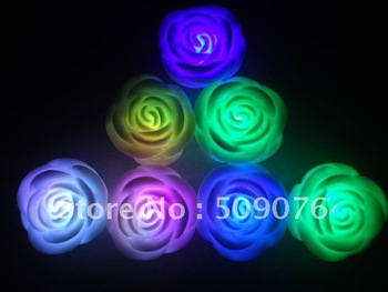 Free shipping 36pcs/lot led flashing rose light led candle light top quality,direct factory supply