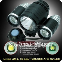 TrustFire TR-D003 A13 Cree XML-T6+2*XPE-R2 1800LM 3-Mode Bike/Bicycle Light(4x18650 battery)