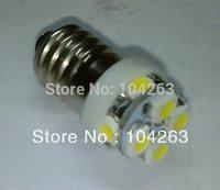 Wholesale Free shipping,New  E10 2*4 8 smd 3528  ,DC12V  led lamp 24v
