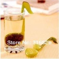Free shipping!10pcs/lot! Novelty Musical Note Shape Plastic Tea Strainer tea filter