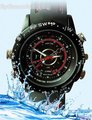 Waterproof Watch Camcorder WATCH Camera Hidden Watch Built-in 4GB Video Recorder HD DVR watch
