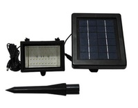 New upgraded solar led Spotlight with 36 Led + 2.3W solar panel +5M cable flood light for house,wall decoration lighting