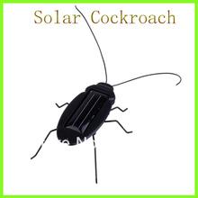 Wholesale!10 pcs/lot Solar Toy Solar Cockroach Novelty Items Solar Powered Toy Green Gift Educational Solar Kits Free shipping(China (Mainland))