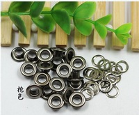 Free shipping, 5*9mm brass eyelet mainly used in garment/ bags/ shoes etc,  eyelet wholesale and retail