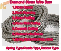 diamond wire saw for granite Quarry|granite block squaring|granite profiling|stone wire saw|concrete cutting|diamond wire beads