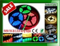 RGB SMD5050 led strip light 5M/roll  300 60leds IP65 Waterproof LED RGB flexible lamps lighting